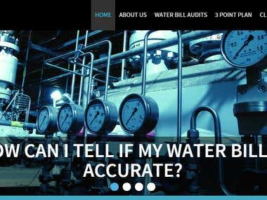 Responsive Web Design - 4H Water