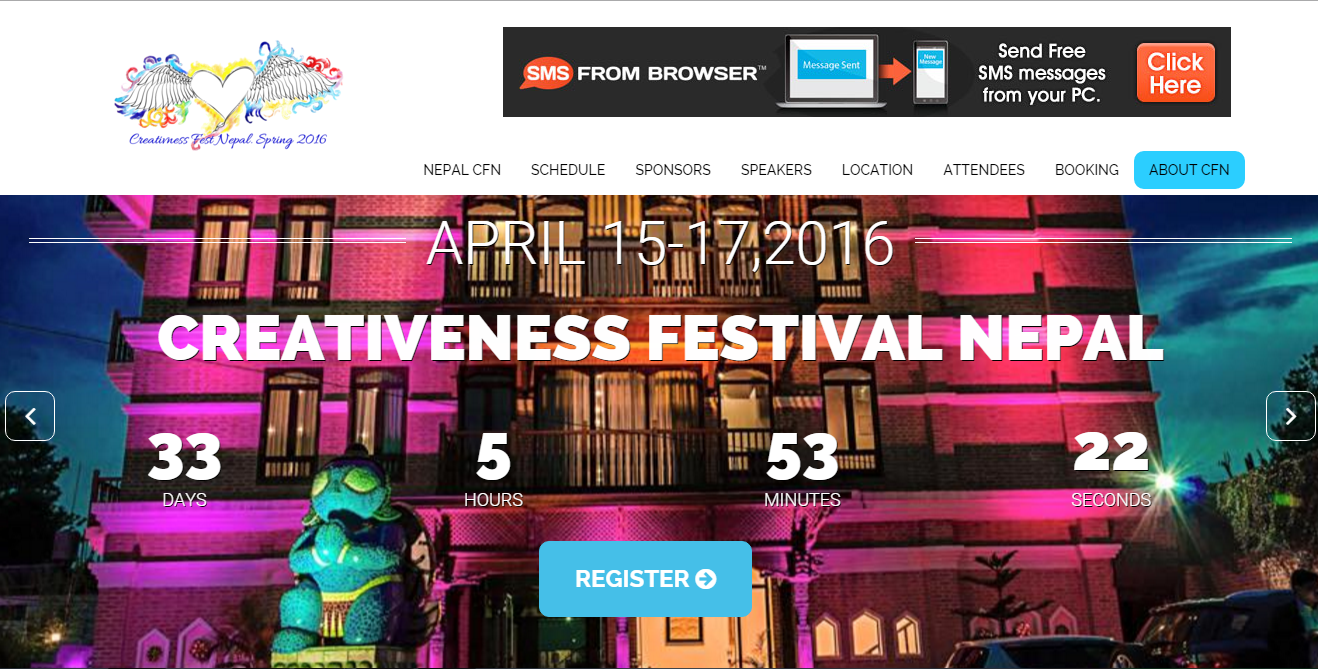 Hotel Event Mangement Website