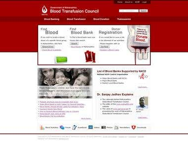 Blood Donation Website
