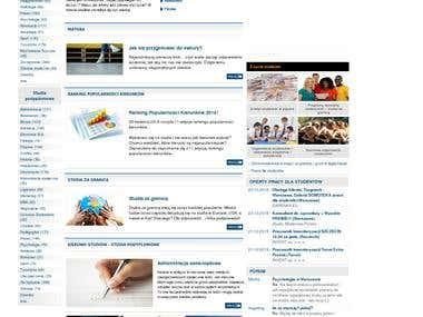 Web portal Uczelnie