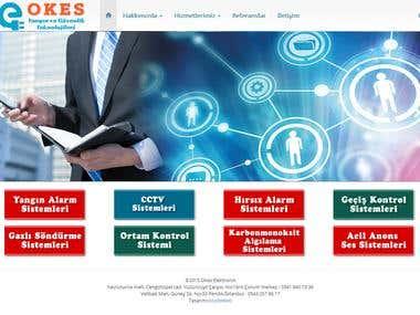 OKES Elektronik Web Sitesi