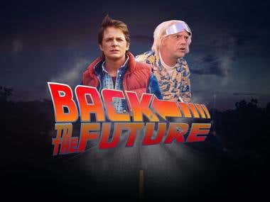Back To The Future Poster for a Contest
