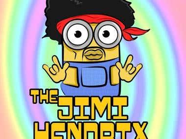 Jimi Hendrix Minion