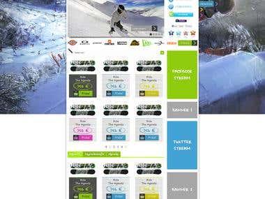 Boardhell web design