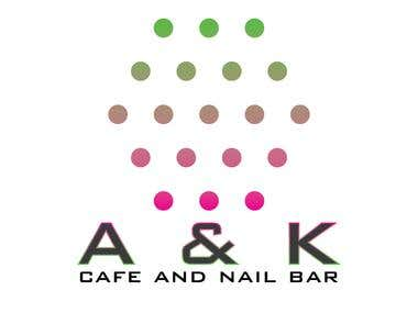 Logo design for A&K