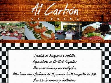 Al Carbon Catering Services Flyer