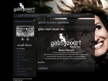 Landing page Gabscourt
