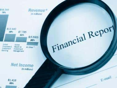 custom finance reports and calculations using php,JS,html