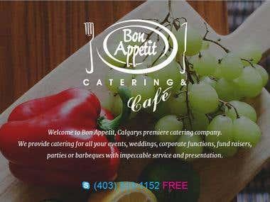 Bon-appetit (Restaurent Website)