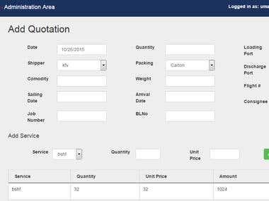 Safeena Internationals Management System