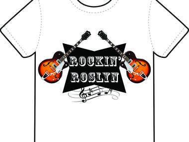 Rockin\' Roslyn T-Shirt Design