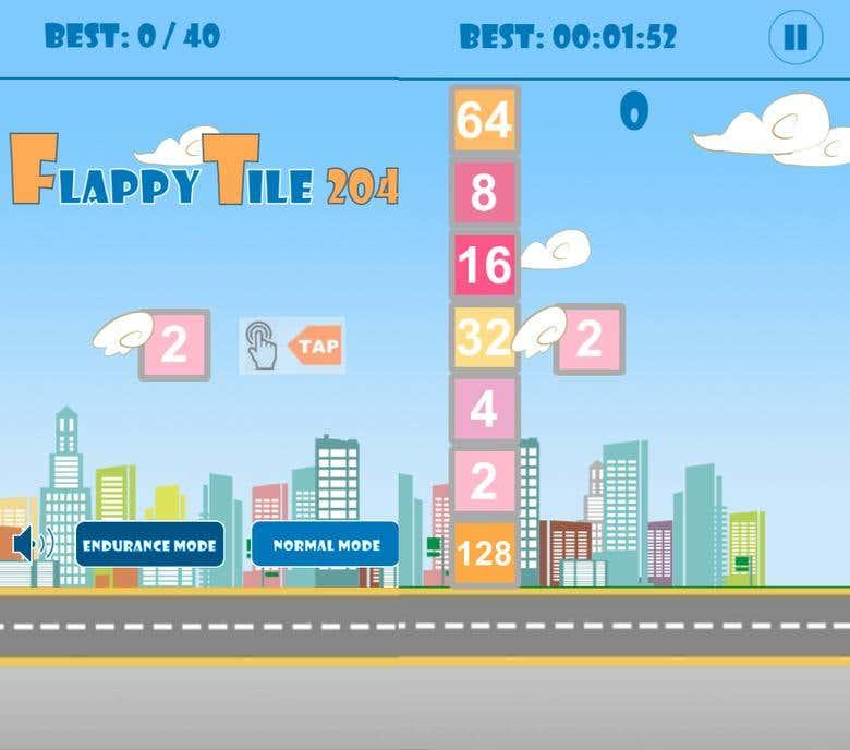 Flappy 2048 | Freelancer