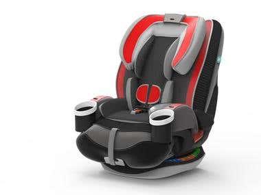Baby Car Seat Design