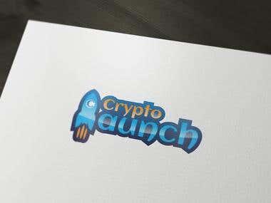 Crypto Luch logo design