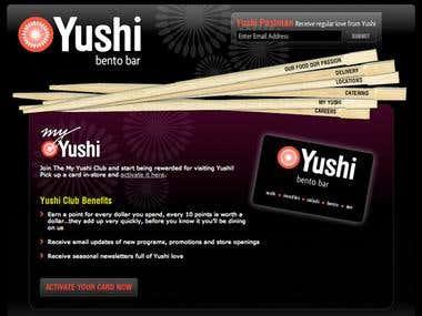 Yushi Bento Bar