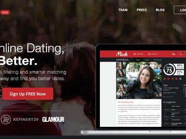 Mesh Dating website