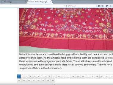 handicraft shopping website