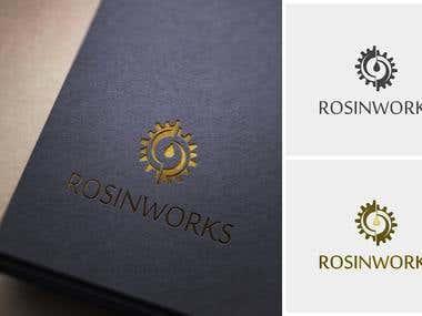 Rosinworks Logo Design