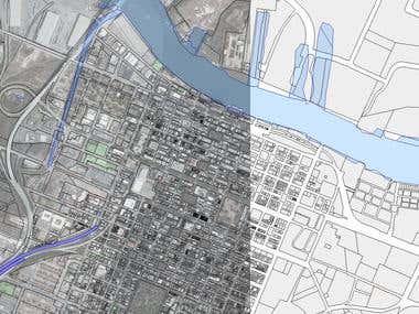 City parcel map