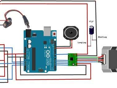 Stepper Motor Control using Arduino and A4988 Stepper Motor