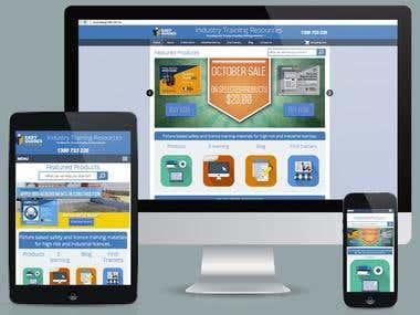 Web Design (E-commerce)