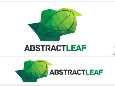 AbstractLeaf Logo Design