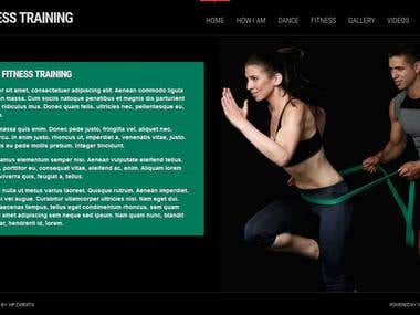 Personal training site