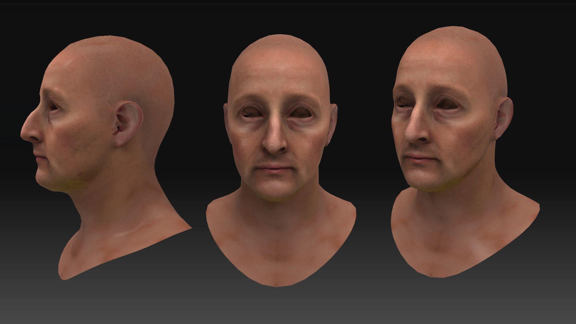 Realistic head modelling