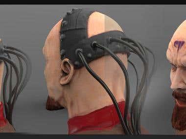 Yuri head 3d