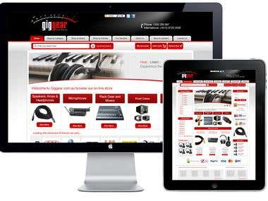 eCommerce web design/development