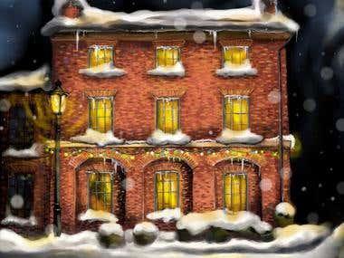 Christmas Style Street
