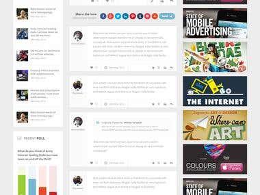 Forum Website Design