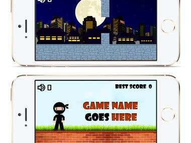 Ninja iphone Game