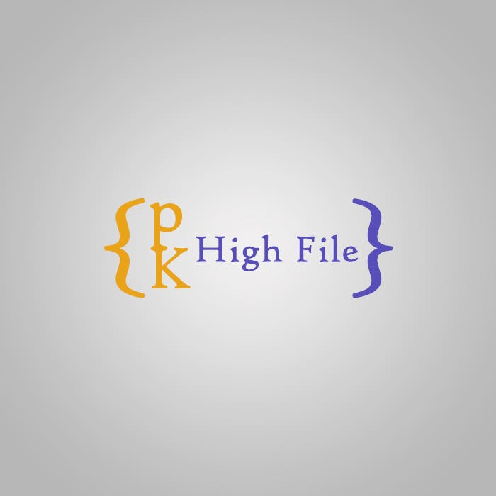 Logo - PK High Files