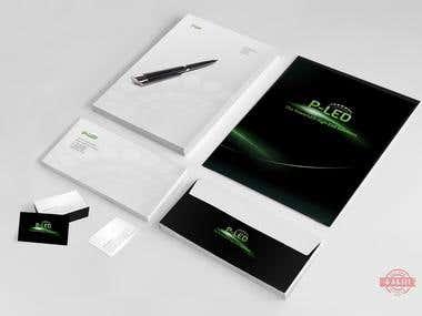 P-LED - Logo, Branding, Corporate Identity, Website