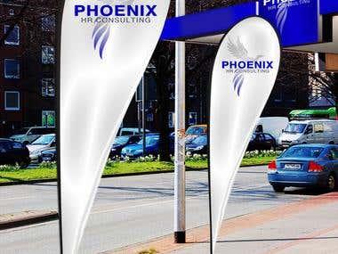 Phoenix HRC - Logo, Branding, Corporate Identity, Brochure,