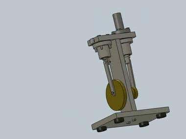 Stirling engine - animation