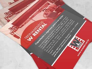 Flyer - W Rental