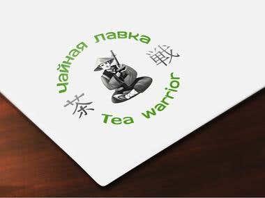 Logo. Tea Warrior