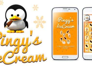 Pingys Icecream - an Android game