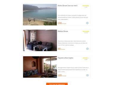 Site web pour agence immobilière