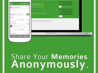 UnSeen It - Anonymous Social Network