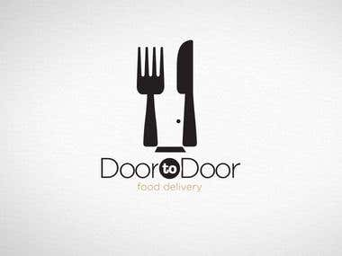 Logotype for Door to Door