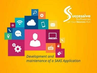 Development and Maintain of a SAAS Application