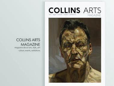 Collins arts magazine