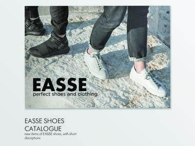EASSE shoes catalogue