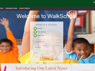 School News Website