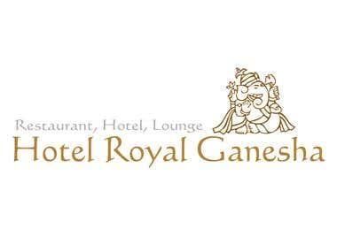 Hotel Royal Ganesha - Logo Designing