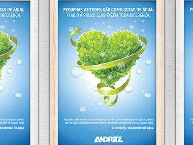 Cartaz Andritz / Poster Andritz