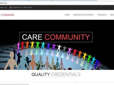 Website for Quality Credentials